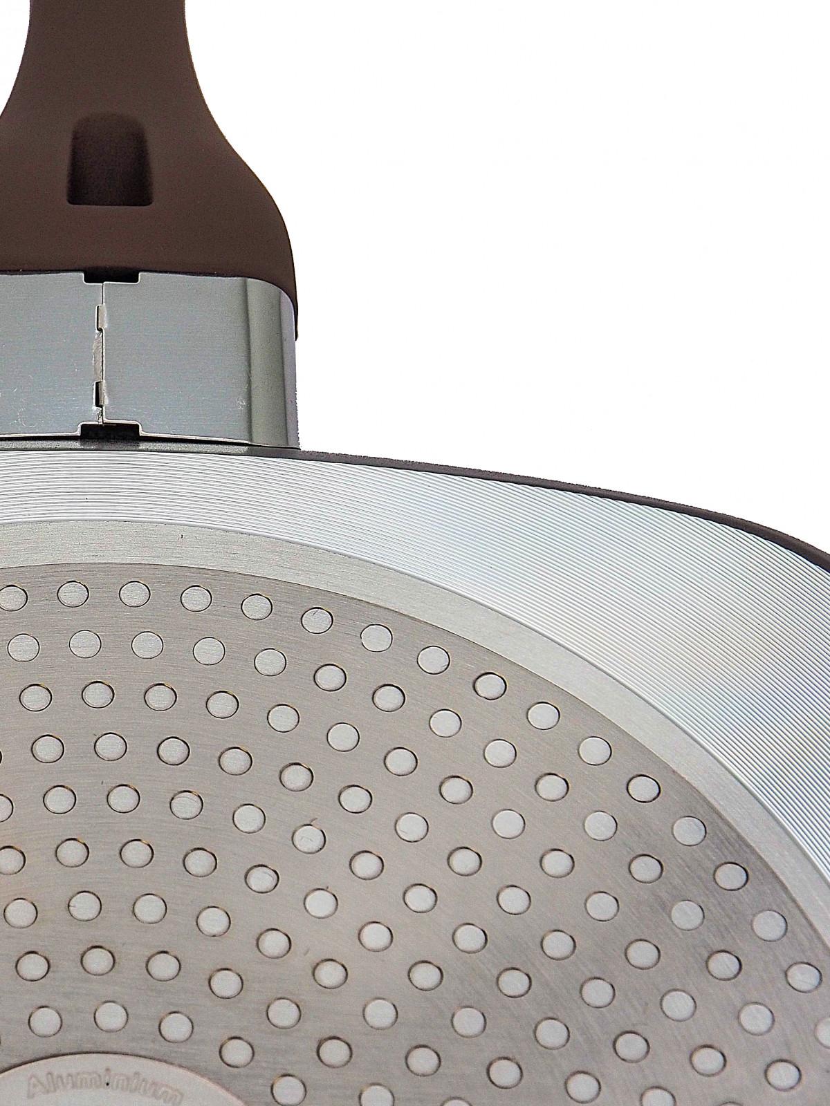 Сковорода-гриль для індукційної плити Lessner Chocolate Line 28 см 88365