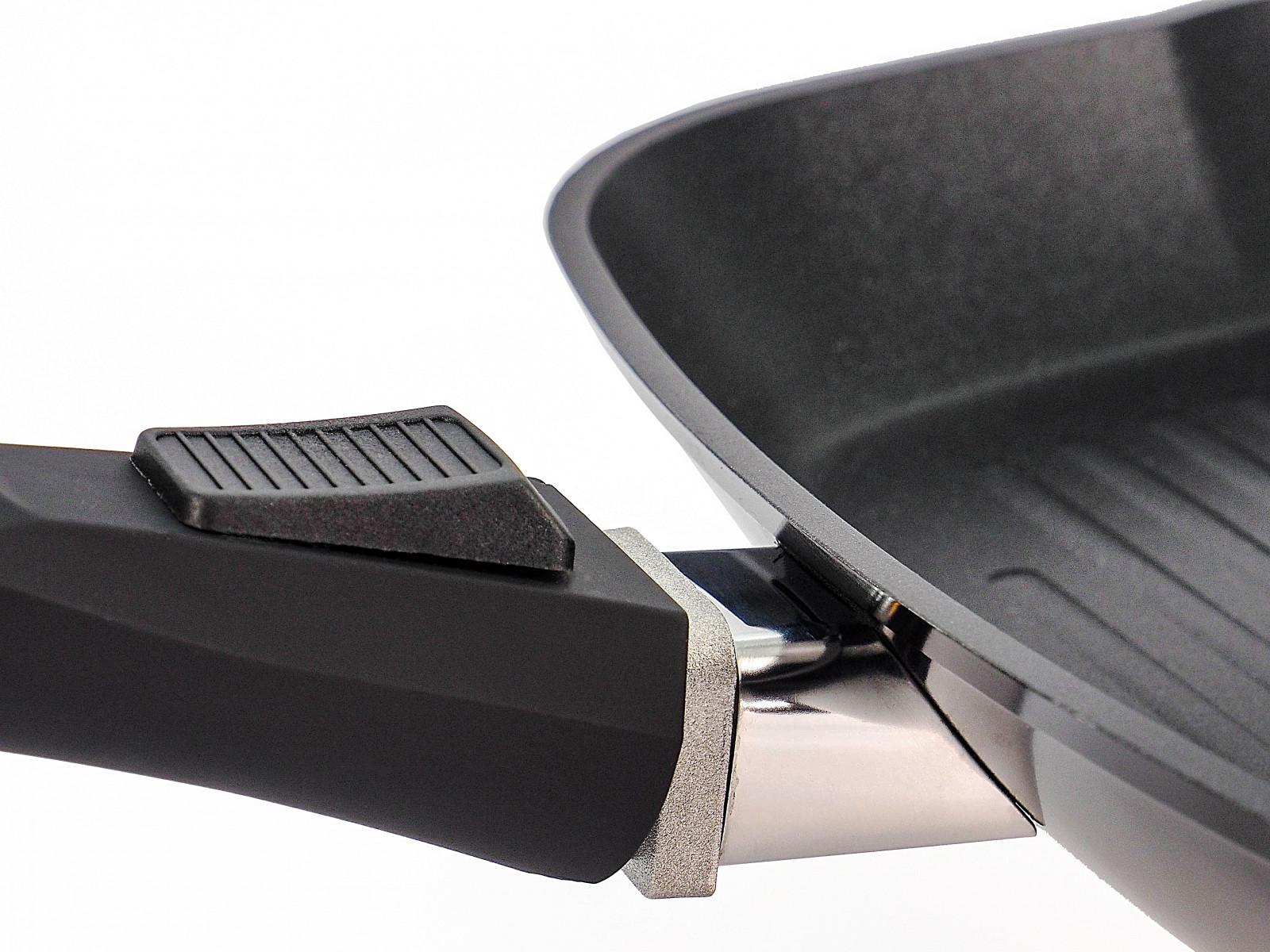 Сковорідка-гриль зі знімною ручкою Lessner 28 см 88361