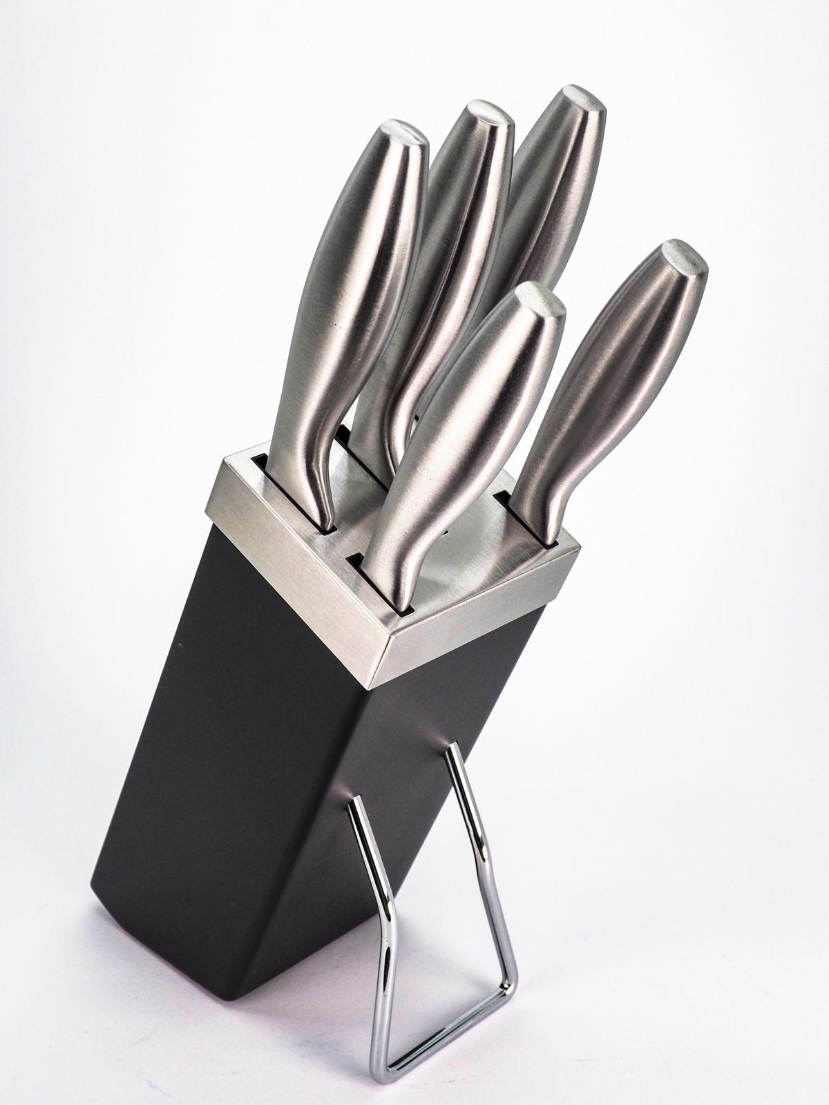 Набір ножів Lessner Grey 77209 6 предметів