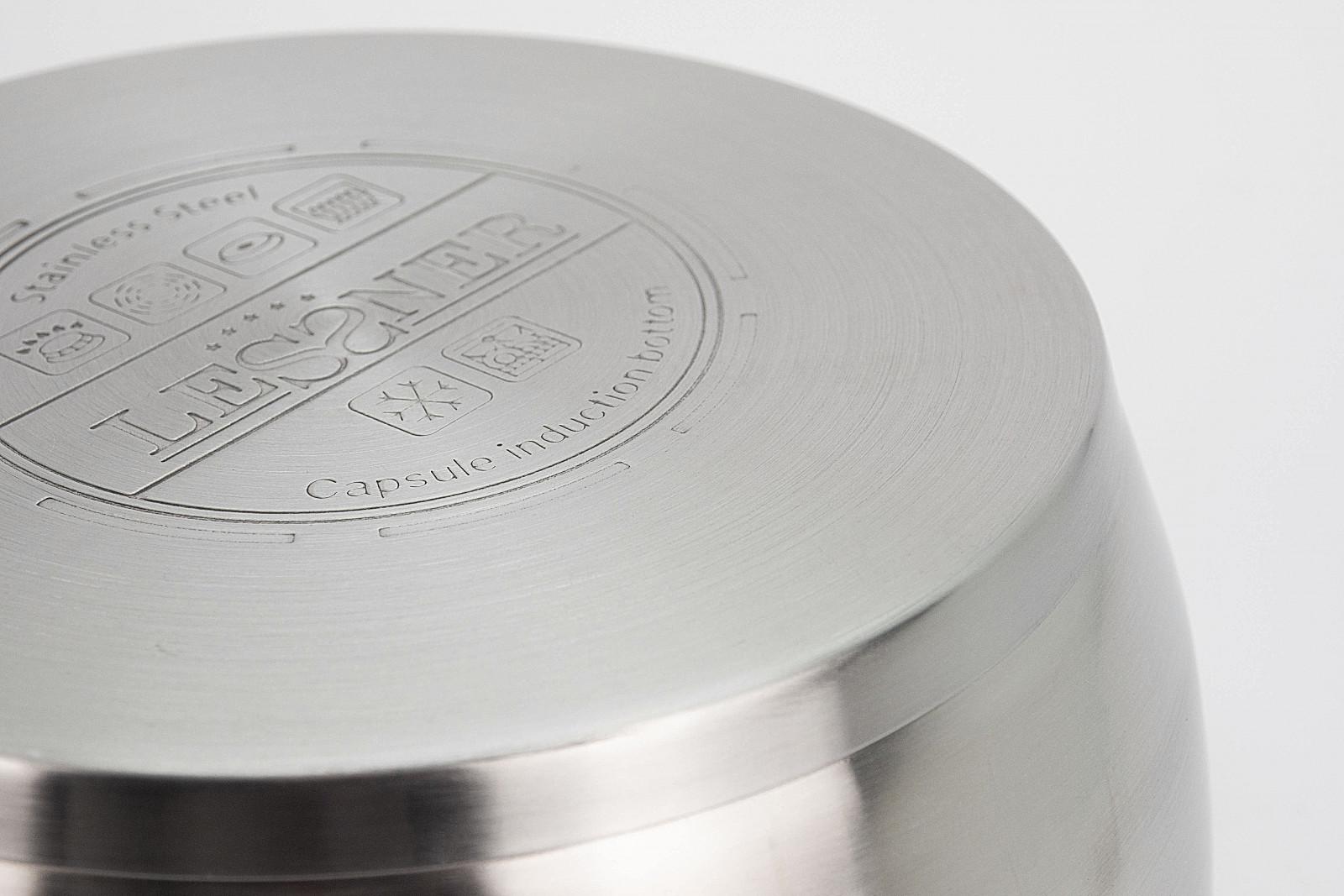 Каструля Lessner з кришкою 55865 для індукційної плити