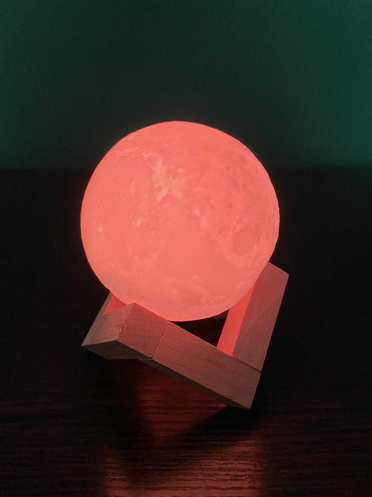 Світлодіодний світильник-нічник «Місячна лампа» M-16