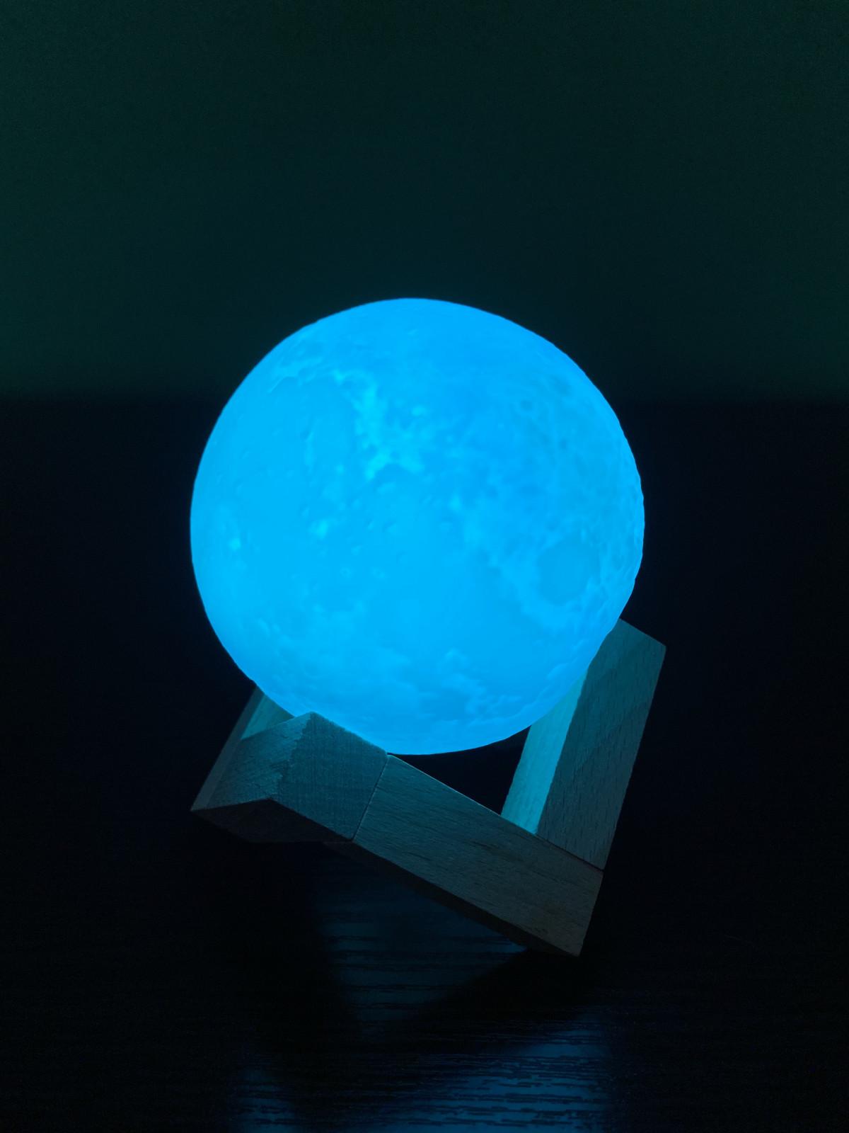 Нічник Місячна лампа