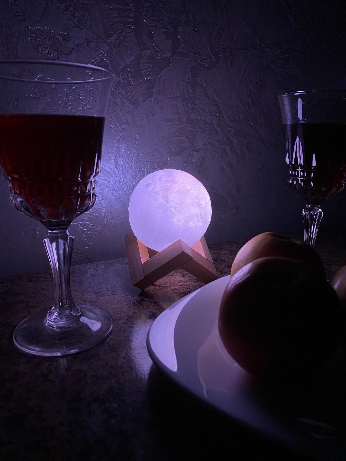 Нічник Місячна лампа Moon lamp