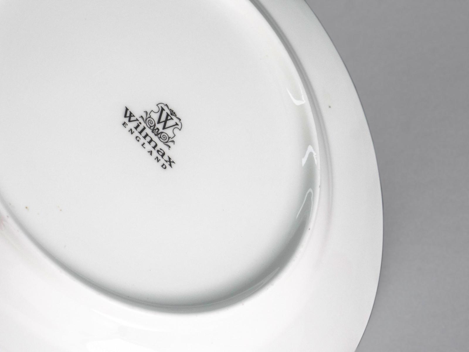 Фарфорова тарілка десертна кругла 18см Wilmax WL-991005