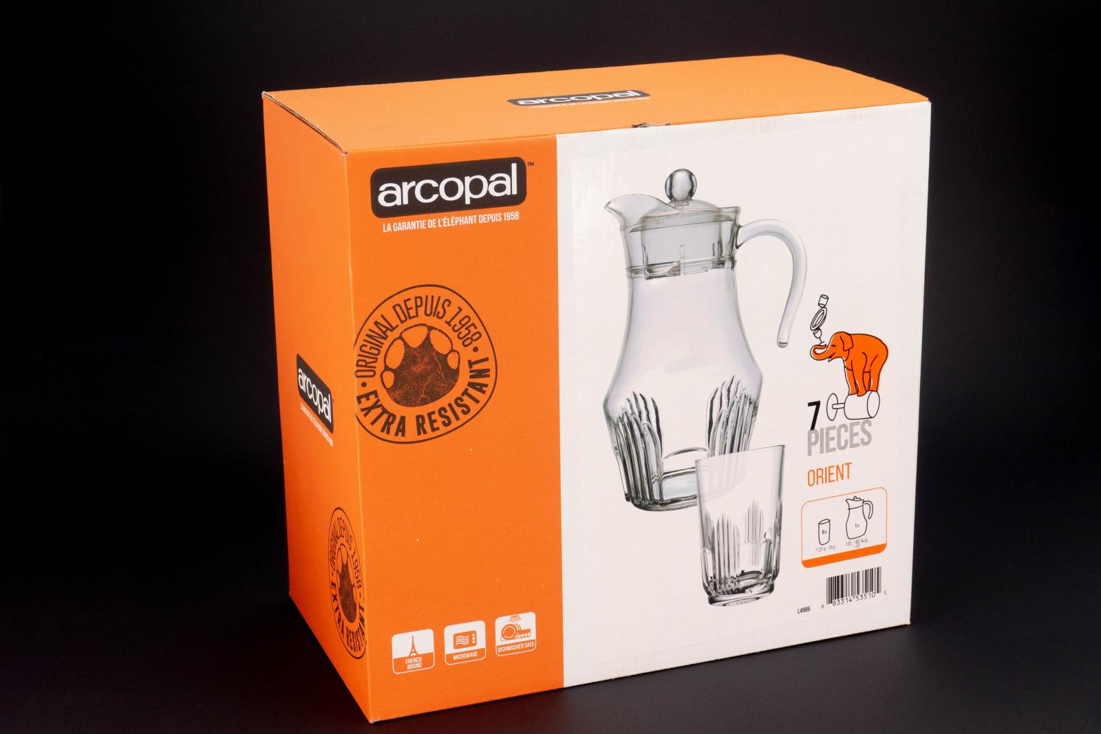 Набір для напоїів Arcopal Orient з 7предметів L4986