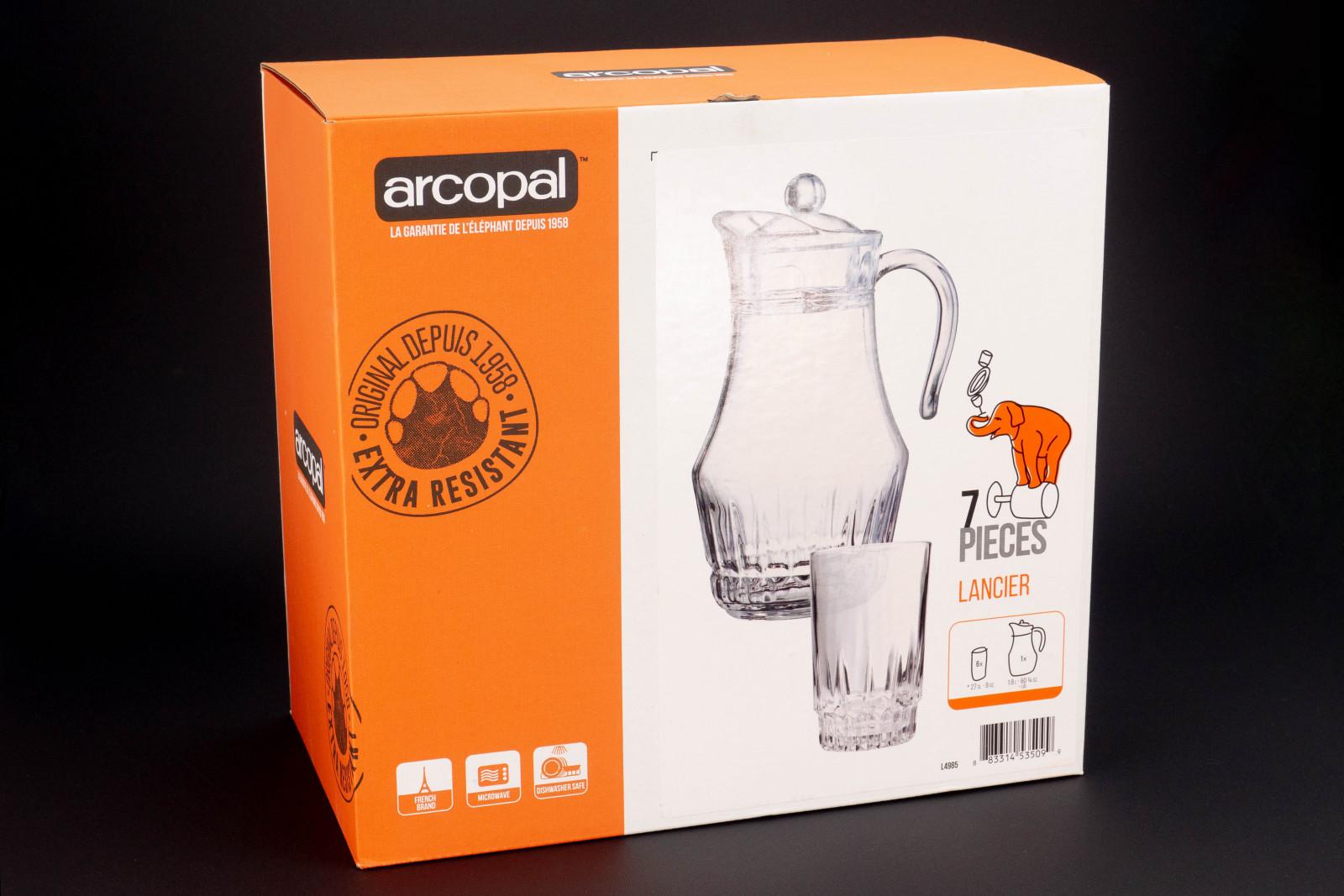 Набір для напоїв Arcopal Lancier з 7 предметів L4985