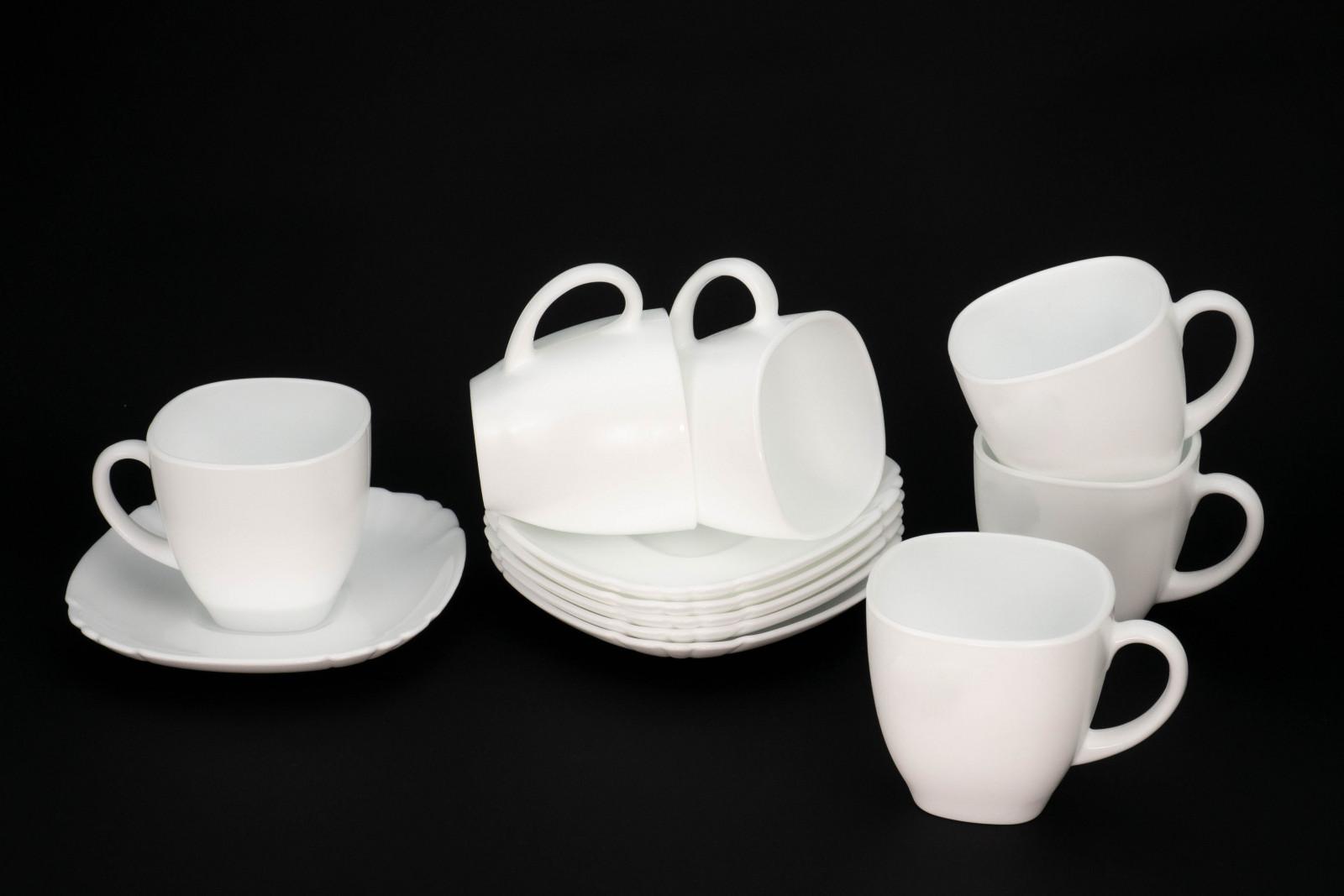 Набір для чаю Luminarc Lotusia з 12 предметів Q0881